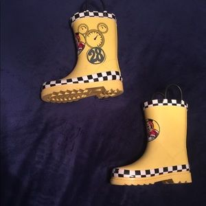 Mickey Mouse Rubber Rain Boots